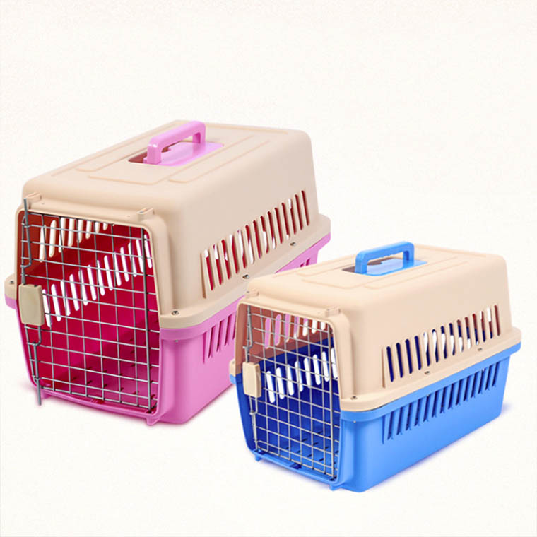 New model ABS+PP materials multi-model airline approved size M soft sided pet carrier