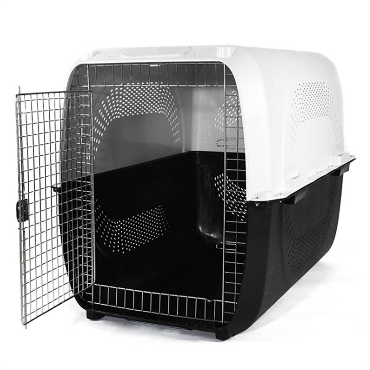 China pet supplies ABS+PP materials airline approved size XL 72*53*53cm pet carrier dog cage