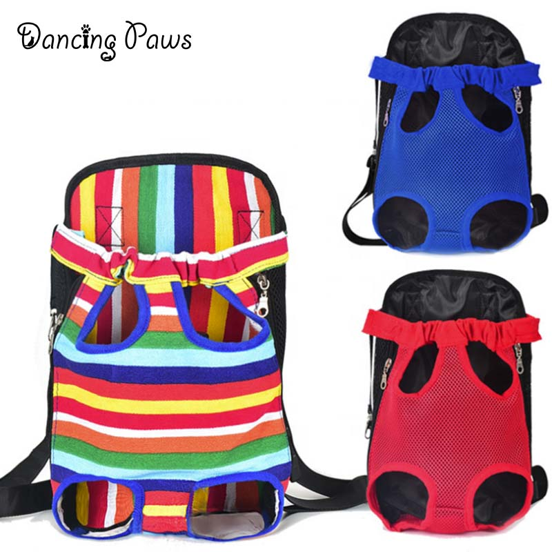 Factory Price pet front chest bag cat/dog bag out portable backpack breathable bag for petshop