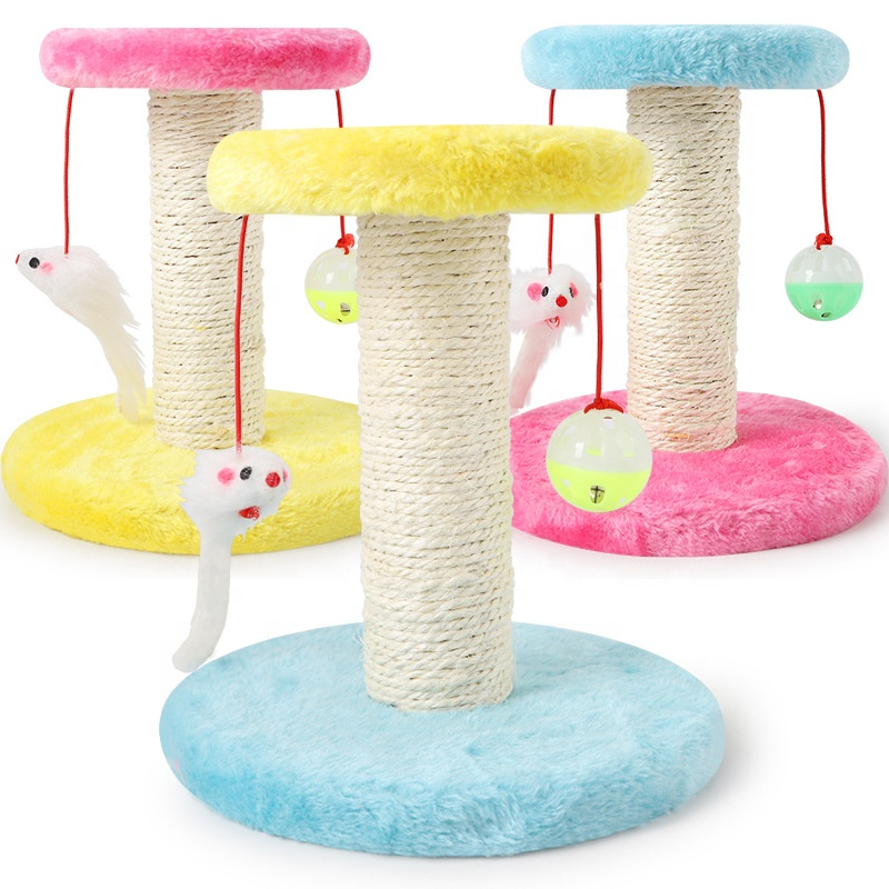 2019 China suppliers Climbing scratching board for cat toy tree
