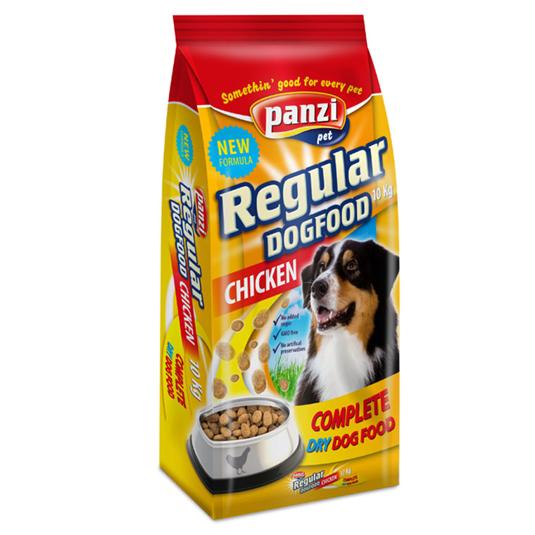 Panzi Regular dry dogfood Adult chicken - 10kg
