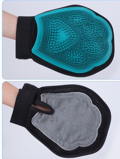 pet glove with multiple usage