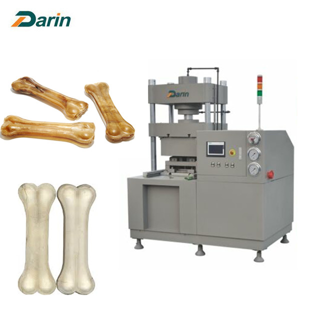 Pet Rawhide Bone Pressing Machine