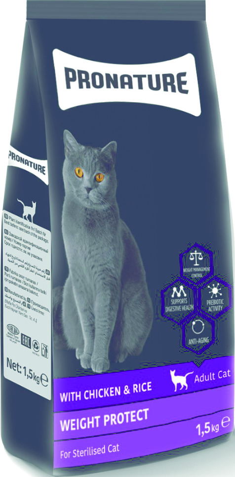 PRONATURE ADULT CAT STERILISED PREMIUM
