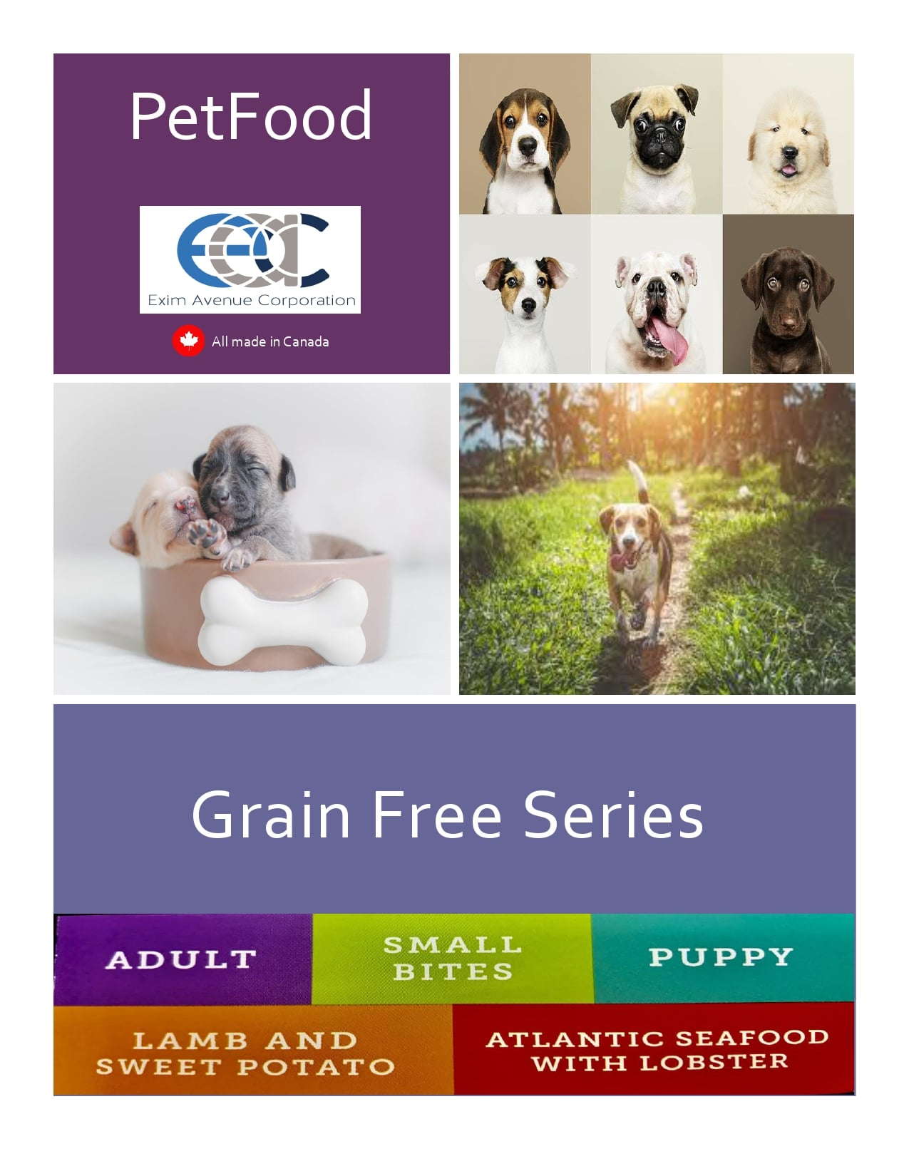 Grain-free Dry Dog Food