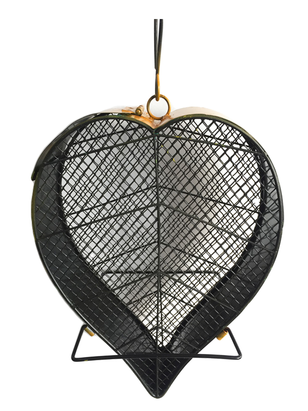 Heart leaf mesh feeder