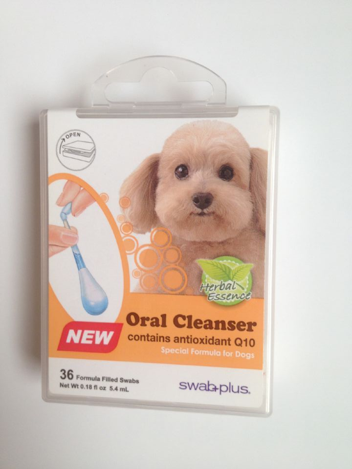 swab plus Pet oral care swabs