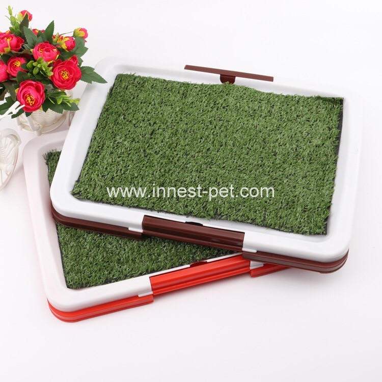 Plat Dog Training Toilet for Sale, Puppy Potty Pad, pet dog toilet