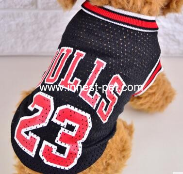 Basketball Team Dog Clothes, Pet Dog Clothes, Dog Sport Clothing, Pet Clothing