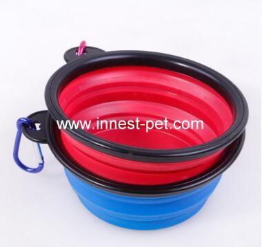 silicone dog travel water bowls, dog travel bowl, pet bowl