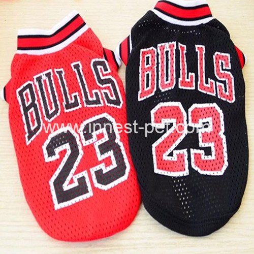 Basketball Team Dog Clothes, Pet Dog tshirt, Dog Sport Clothing, dog jersey