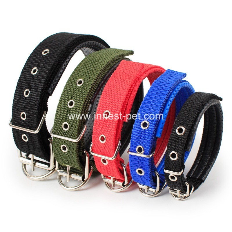 dog product cheap nylon pet dog collar