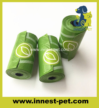 New Dog Products 100% Biodegradable Plastic Dog Poop Bags