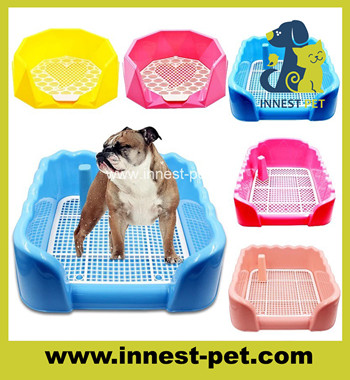 Pet Cleaning Product Training Indoor colorful plastic pet dog toilet