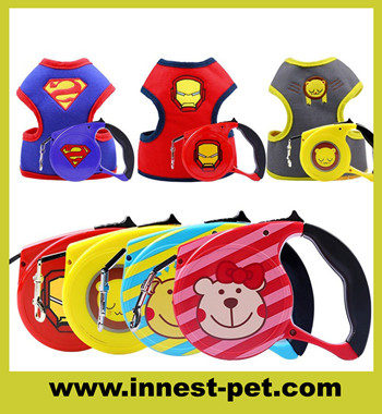 2018 new design 3 meters retracable dog lead, retracable pet leashes