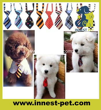Pet Grooming Product Polyester handsome dog bow tie for small dogs
