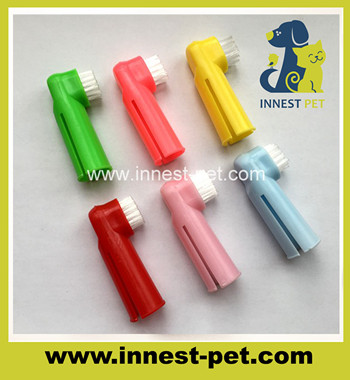 pet dental care tooth grooming dog finger toothbrushes