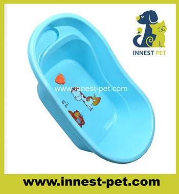 plastic blue cute bathtabs for dogs SPA, pet bath tub for small dogs