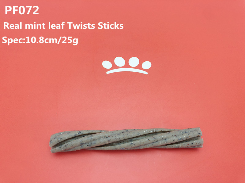 Twists Sticks with real Mint leaf
