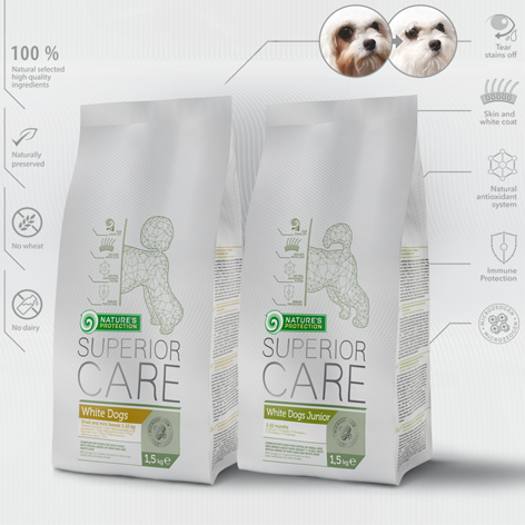 'Superior Care' super premium dry dog food
