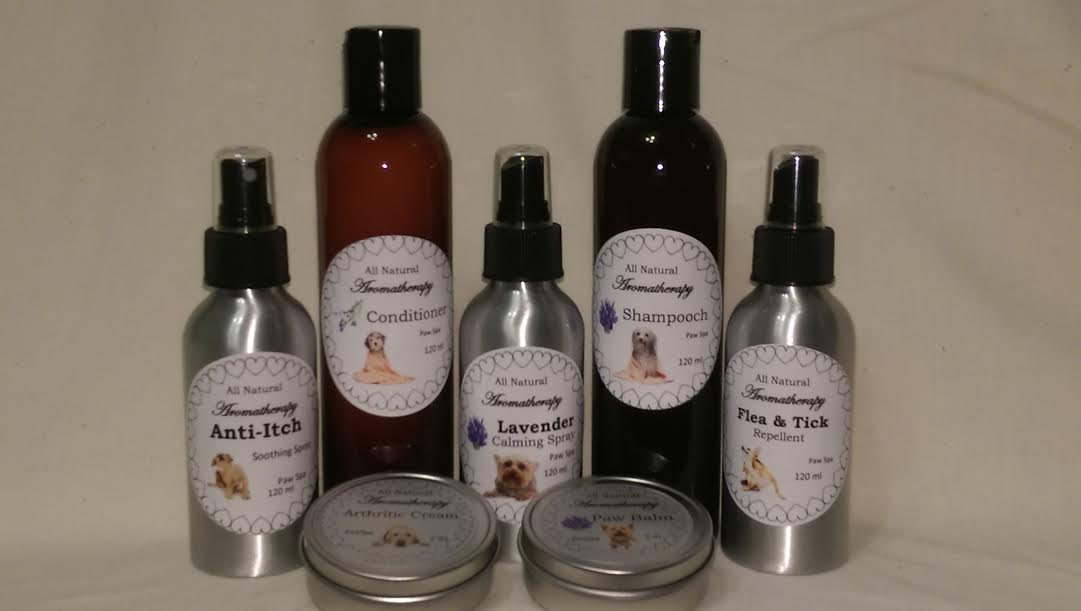 Natural Aromatherapy Grooming Line