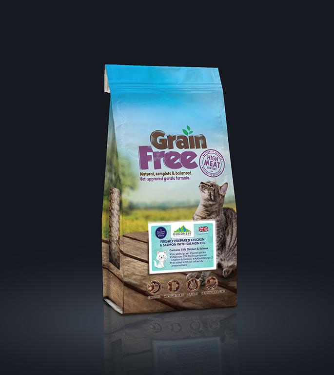 Goodness Grain Free Cat Food