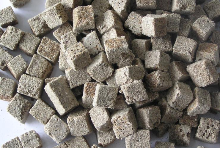 Freeze Dried Fish Food Tubifex