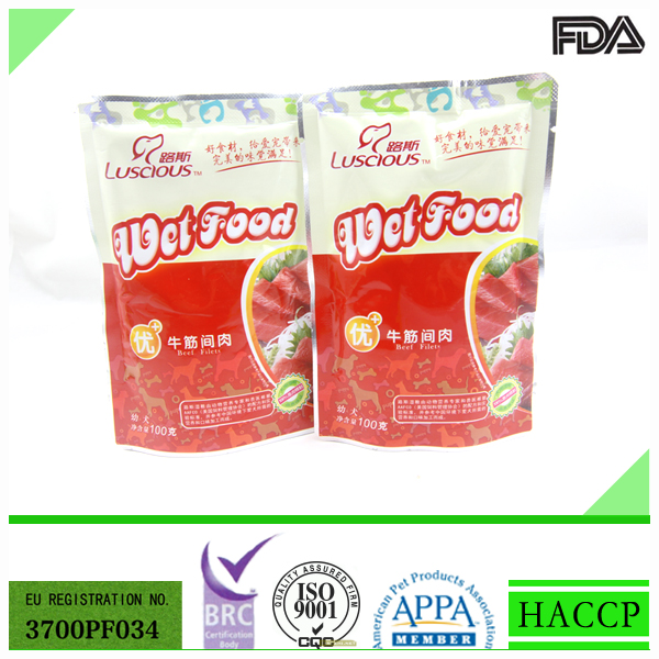 100g Beef Filet Canned Pet Food