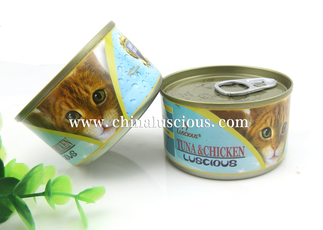 100G Tuna & Chicken Canned Cat Food