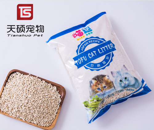 Wholesale Biodegradable Nature Clumping Pure Plant Tofu Cat Litter