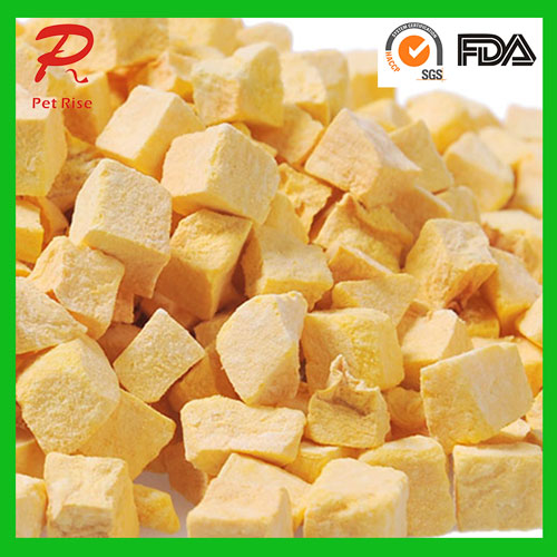 All Nature Freeze Dried Pumpkin Dice as Dog Chews