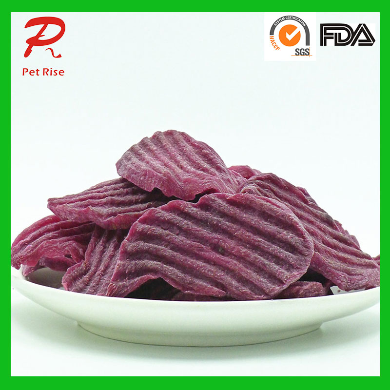 Gluten Free Purple Sweet Potato Dog Treats