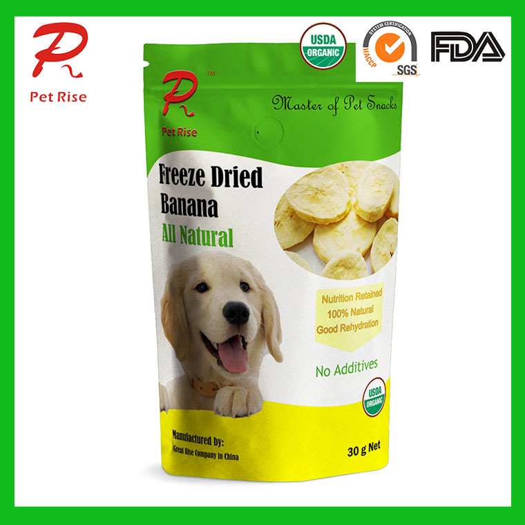 Pet Rise USDA Organic FD Banana as Dog Treats