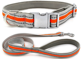 Popular new style reflective dog collars