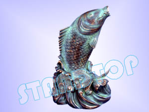 Fish (left)