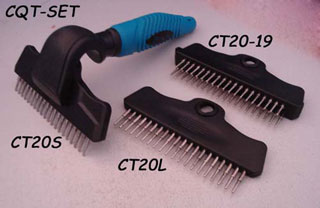 Multifunction replaceable pet comb